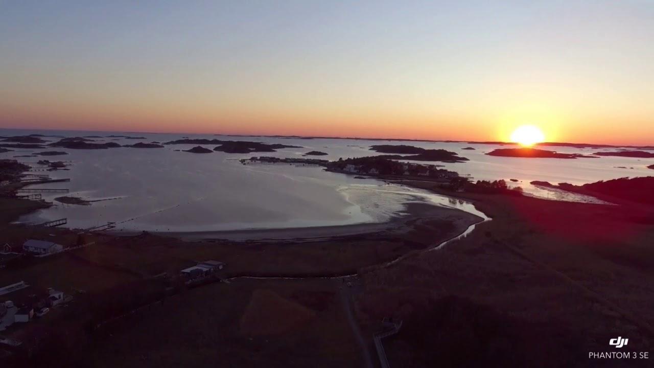 Download Sunset in sweden