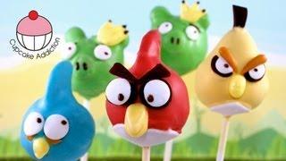 Video ANGRY BIRDS Cake Pops! Make Angry Birds Cake Pops -- A Cupcake Addiction Tutorial download MP3, 3GP, MP4, WEBM, AVI, FLV Juni 2018