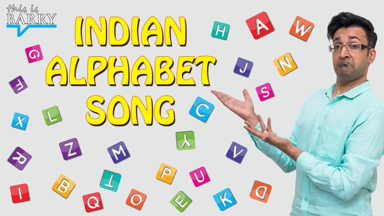 Indian Alphabet Song (Original) - YouTube