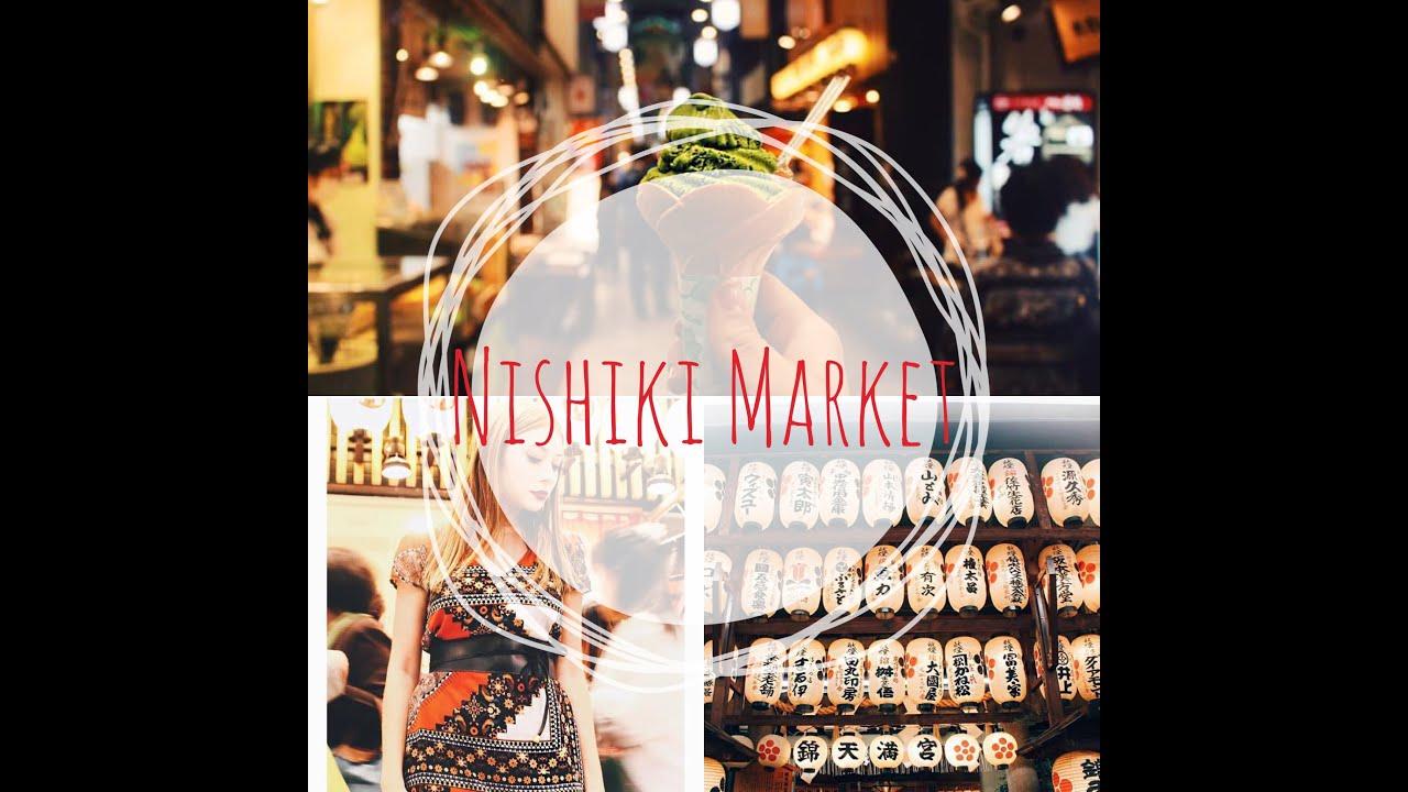 Mercado de Kyoto - Nishiki Market ( cap. 3) - YouTube