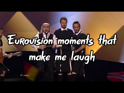 Eurovision moments that make me laugh