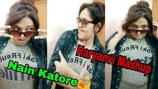 Nain Katore - Haryanvi mashup song/Haryanvi mashup 5/ Lokesh Gujjar Haryanvi new song /SR Clips