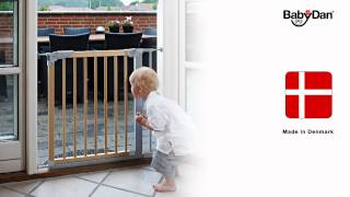 Babydan Designer Stair Gate  - Demonstration Video | Babysecurity