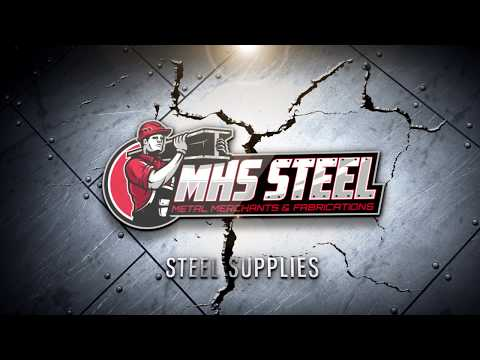 MHS Steel Logo - Metal Merchants & Fabrication Sydney