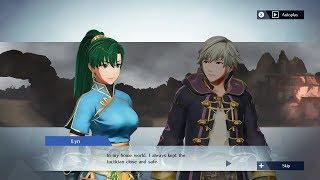Fire Emblem Warriors - Lyn & Robin (M/F) Support Conversation