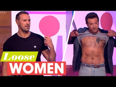 Gino D'Acampo and Paddy McGuinness Get Competitive Playing Mr and Mrs | Loose Women