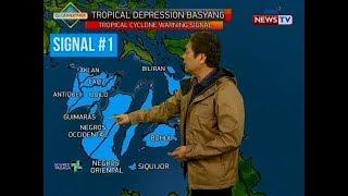 SONA: Bagyong Basyang, buong araw nagpaulan at nagpabaha sa Visayas at Mindanao