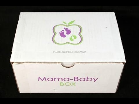 Mama-Baby Box September 2015 Review + Discount Coupons