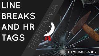 HTML البرنامج التعليمي للمبتدئين 12 - الموارد البشرية BR الكلمات