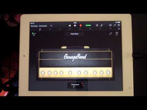 Garageband for iPad, Testing All the Guitar Amps and FX
