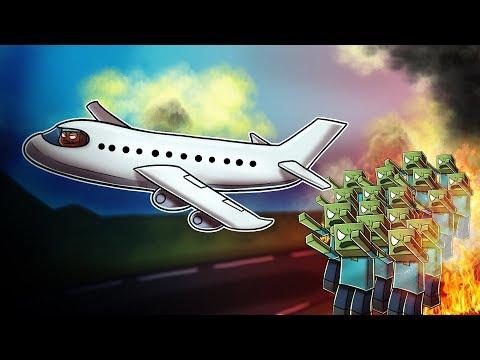 Minecraft | The Apocalypse - HOW TO ESCAPE THE ZOMBIE HORDE! #33