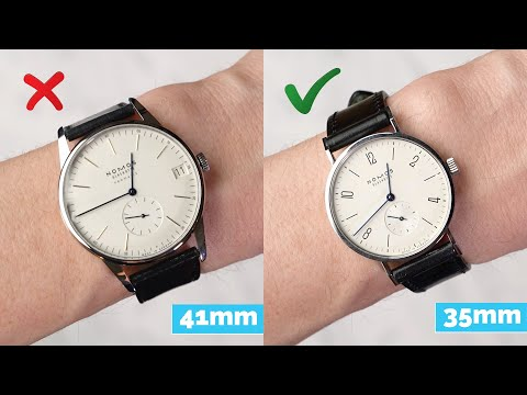 How To Choose The Right Size Watch For Your Wrist (ft. Farfetch & Nomos)