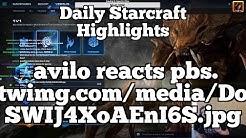 Daily Starcraft Highlights: avilo reacts pbs.twimg.com/media/DoSWIJ4XoAEnI6S.jpg