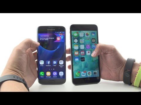 samsung galaxy s7 edge vs iphone 6s porównanie