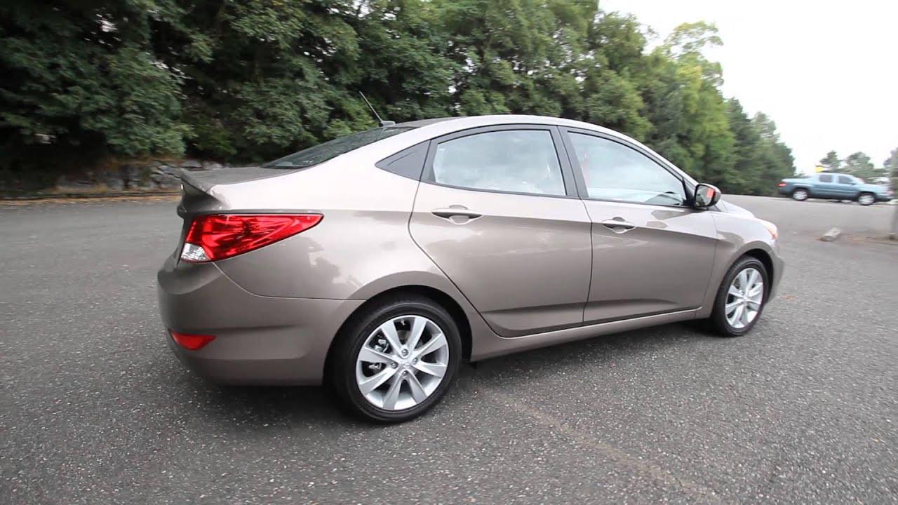 2014 Hyundai Accent Gls Bronze Eu757909 Skagit