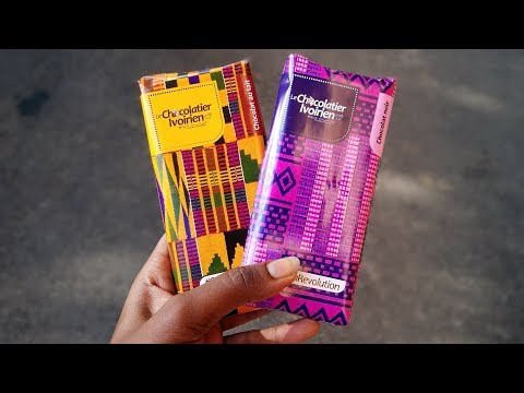 Chocolate made in Ivory Coast| My first taste of Ivorian Chocolate|  #Cocoarevolution