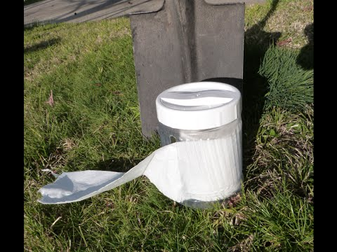 DIY Camping Ideas, Toilet Paper Roll Holder, to keep it ...