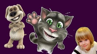 TALKING TOM Cat Funny videos in english - Kids Babies Game - GERTIT vs Tom Cat Screaming 2 thumbnail