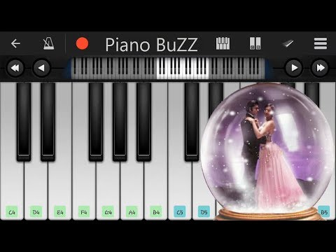 Main Agar Kahon||Mobile Piano Tutorial||Piano BuZZ||Om Shanti Om