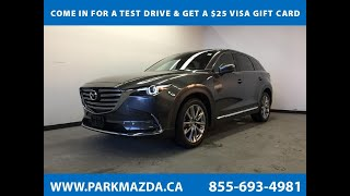 GREY 2017 Mazda CX-9  Review Sherwood Park Alberta - Park Mazda