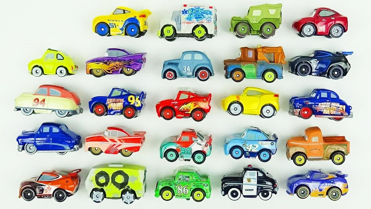 Cars 3 Toys Mini Racers 24 Blind Bags Review Lightning Mcqueen