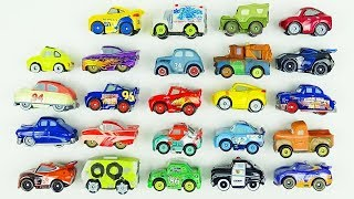 Cars 3 Toys Mini Racers 24 Blind Bags Review Lightning McQueen Unboxing Videos for children