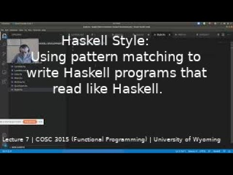 Lecture 7: Haskell