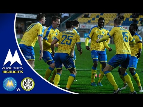 Official TUFC TV - Torquay United Vs Forest Green Rovers 26/12/16