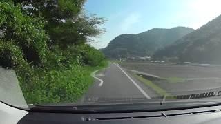 岡山県道461号矢原国ヶ原線、R53 - r53、旭川東岸沿い 車載動画