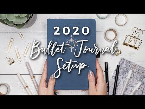 My 2020 Bullet Journal Setup