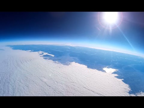 Project Stratosphere - Weather Balloon at 110,000 ft [1080p Full HD]