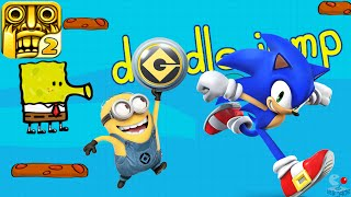 Despicable Me Minion Rush Temple Run 2 Sonic Dash 2 SpongeBob SquarePants Doodle Jump