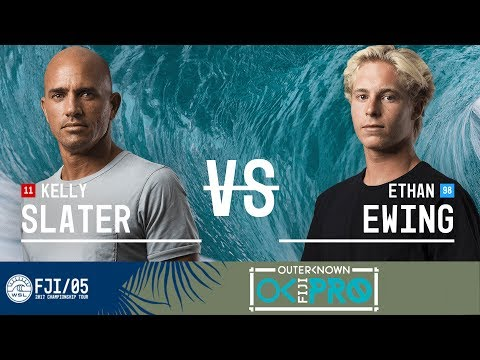 Kelly Slater vs. Ethan Ewing - Round Two, Heat 5 - Outerknown Fiji Pro 2017