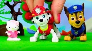 Щенячий патруль и Hello Kitty - Горит кошкин дом