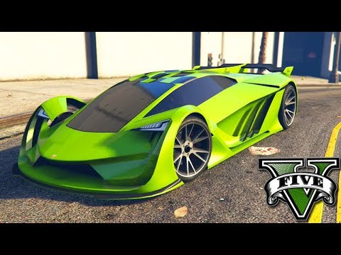 GTA V Online: O NOVO CARRO de $3,000,000 do FUTURO!!! (TEZERACT)
