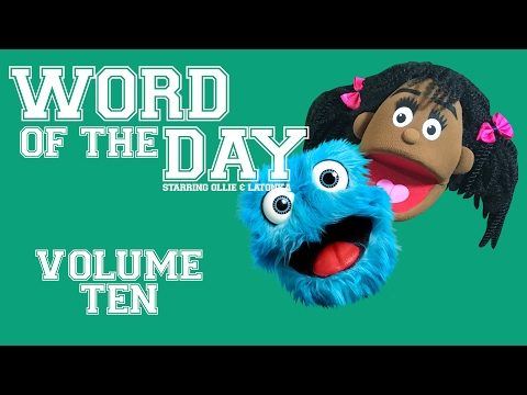 Fluffy Friends - Word of the Day: Volume Ten