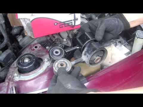 Replace camry torque mount youtube for Toyota camry motor mounts replacement cost