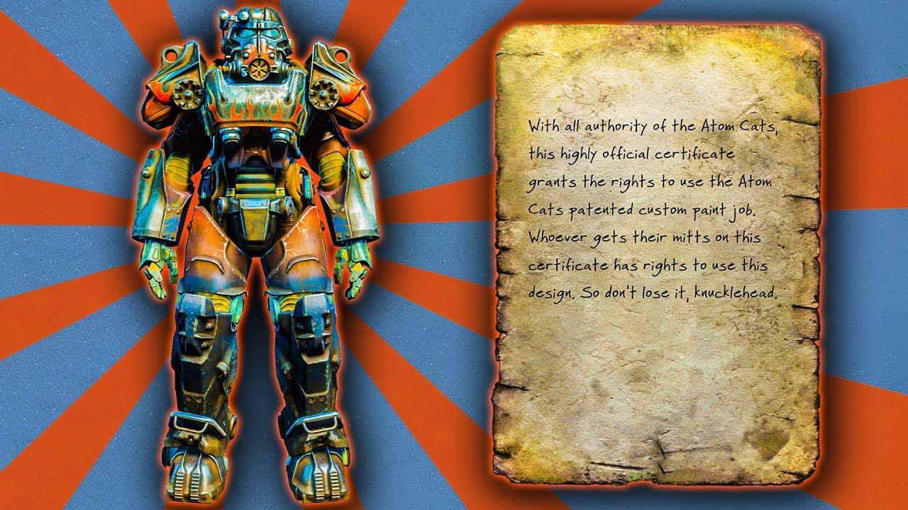 Fallout  Atom Cats Paint Job