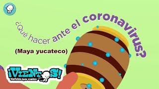 ¿Qué hacer ante el coronavirus?, Medidas preventivas. (Maya Yucateco)