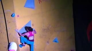 ボルダリングジャパンカップ2013女子準決勝 小林由佳 1 1 小林由佳 検索動画 22