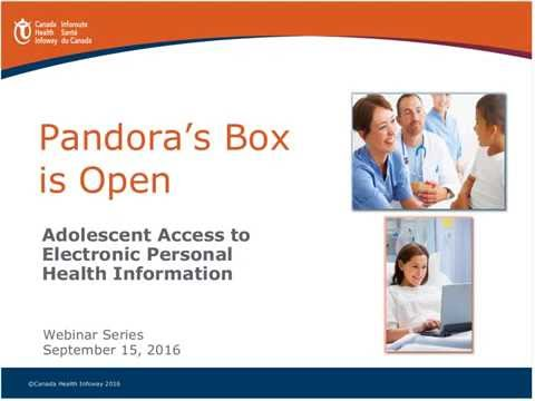 Pandora's Box is Open: Mature Minors' Access to their Health Information