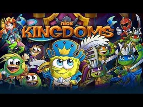 Играю в королевство nickelodeon