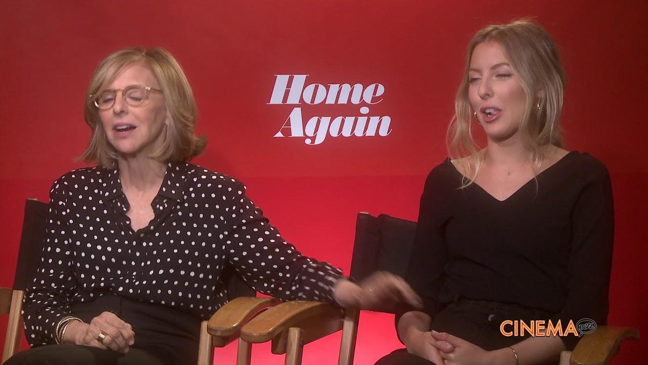 Nancy Meyers Nancy Meyers Hallie Meyers Shyer Talk Home Again Youtube
