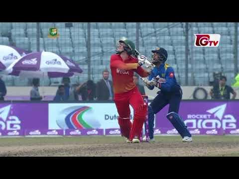 Sri Lanka vs Zimbabwe Highlights | 2nd ODI | Tri-Nation Series 2018
