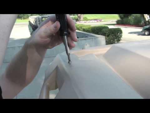 PowerDrive Golf Car Solar Panel Installation