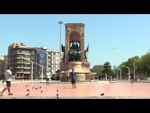 Taksim Square calm after Turkish coup bid
