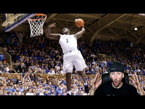 Zion Williamson - NBA Ready - Duke Highlights - Reaction