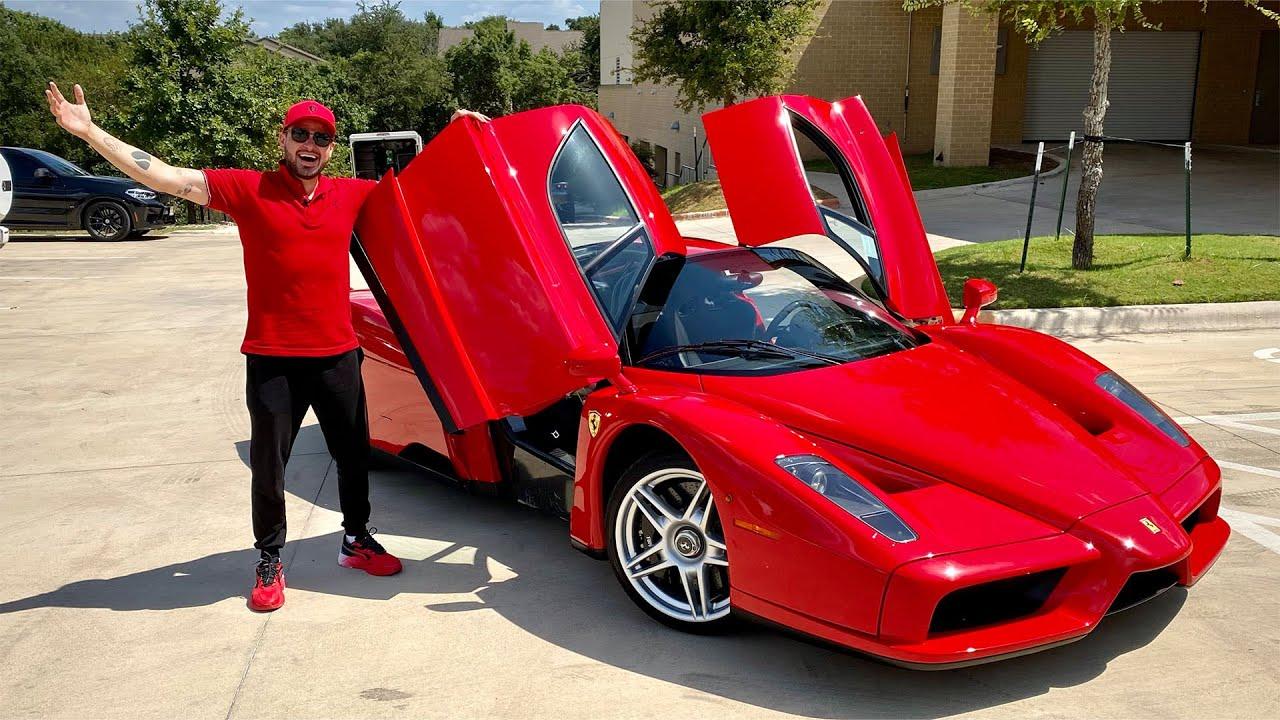 El Ferrari de 3 Millones de dólares! ENZO! | Salomondrin