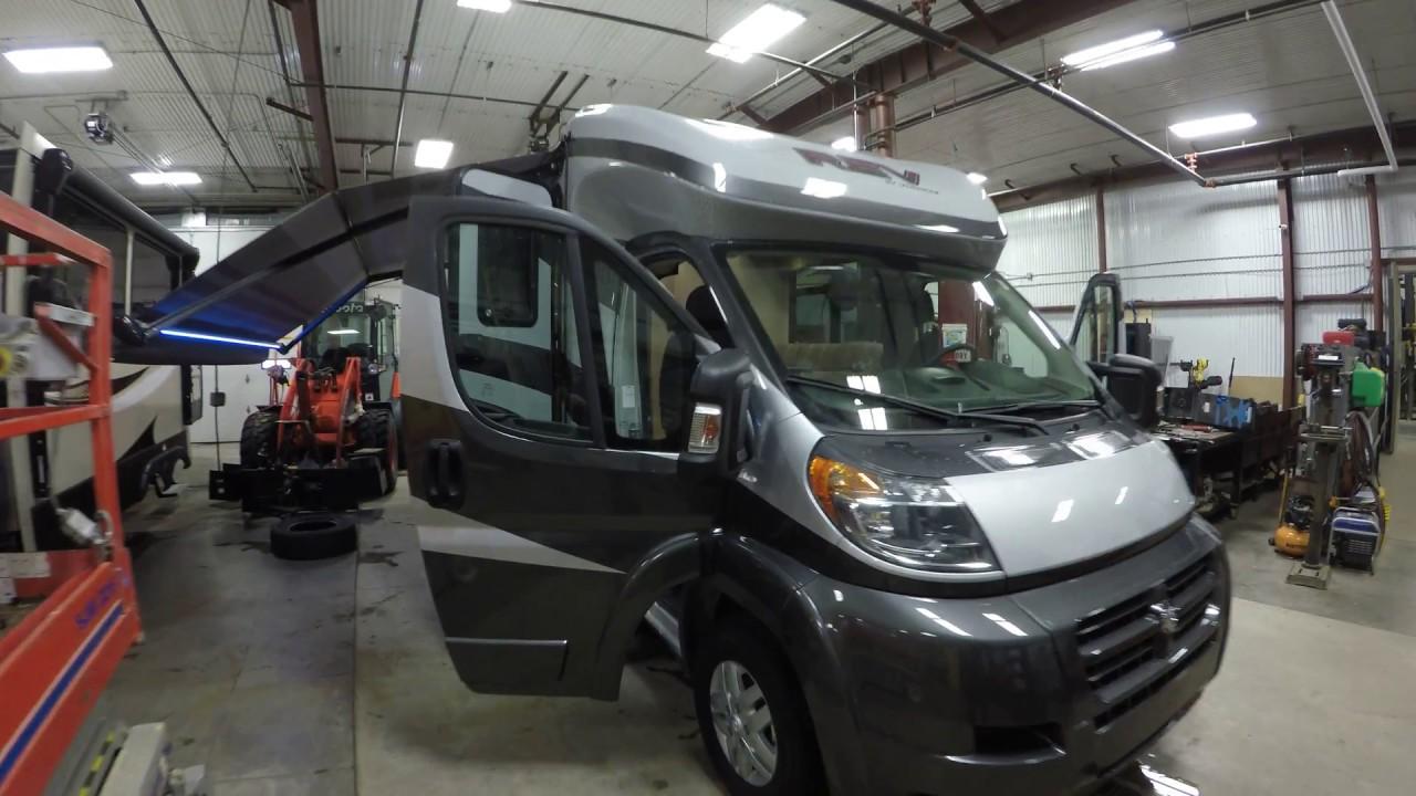 2018 Dynamax Rev 24tb Front Wheel Drive Motor Home Youtube