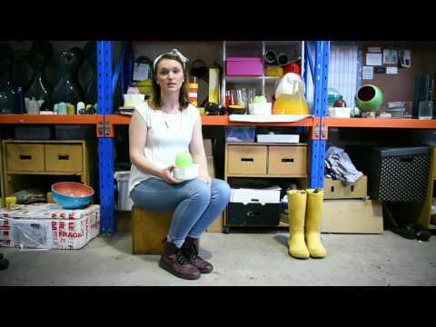 Visual Arts (Glass) graduate Emma - The University of South Australia